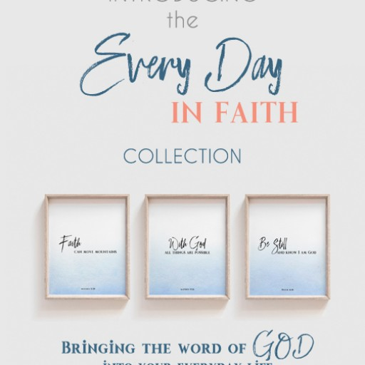 Artsy Pumpkin Proudly Presents the Every Day in Faith Collection