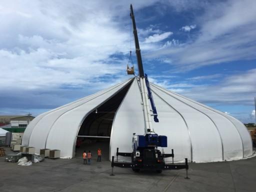 CAS Purchases a Portable Aircraft Maintenance Hangar