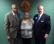 Deacon Joe Beasley, Freda Waiters, and Investigator T.J. Ward