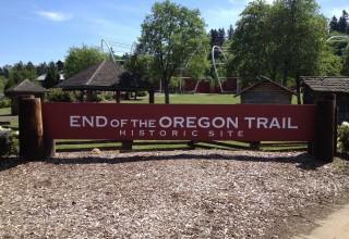 End of the Oregon Trail Interpretive Center in Oregon City