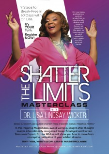Shatter the Limits Masterclass with Dr. Lisa J. Lindsay Wicker