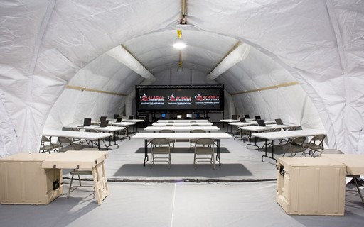 Alaska Structures Showcases Military Shelter Systems at SOFIC 2019