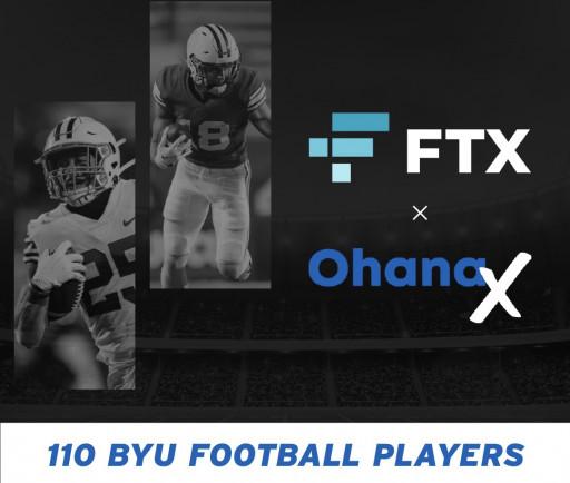 FTX / OhanaX / BYU Football Sponsorship