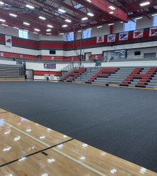 American Fork High School Protective Carpet Tiles