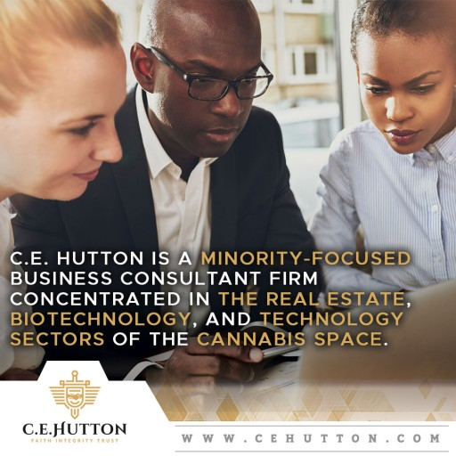C. E. Hutton, a Minority-Owned Cannabis-Related Company, Launches New Website During Black History Month