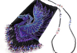 Beaded Pegasus Bag
