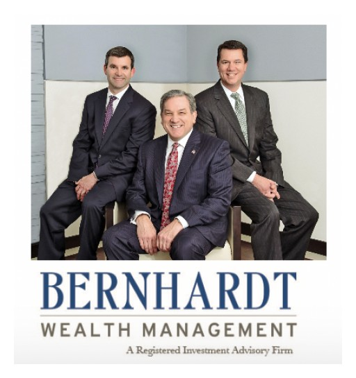 Bernhardt Wealth Management  Celebrates 25th Anniversary With Top Advisor Recognition