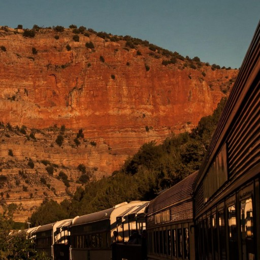 Summer Outside the City at Verde Canyon Railroad
