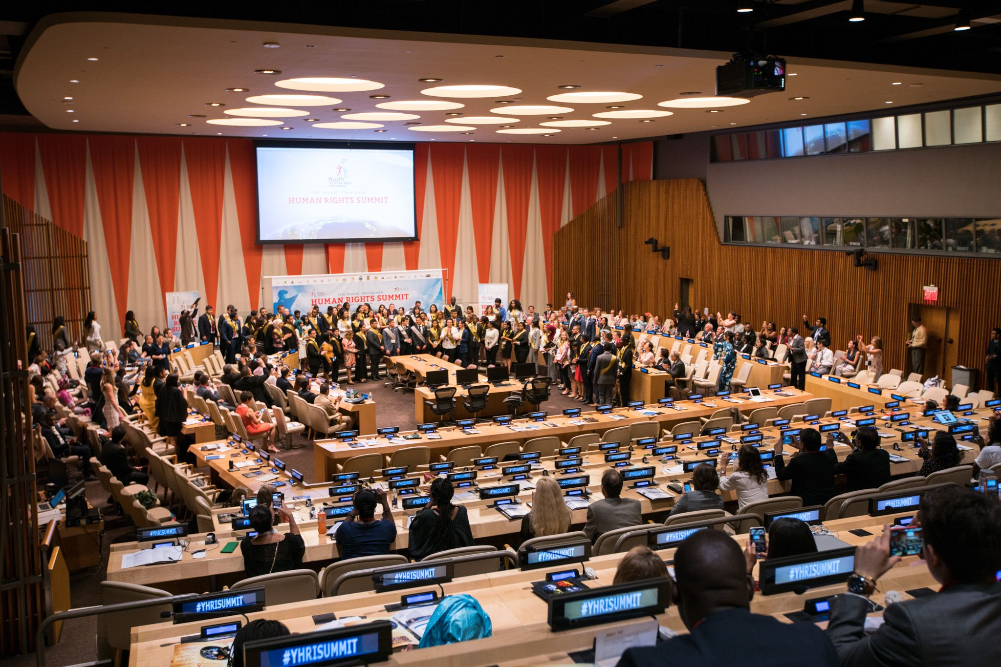 15th annual Human Rights Summit of Youth for Human Rights International at the United Nations