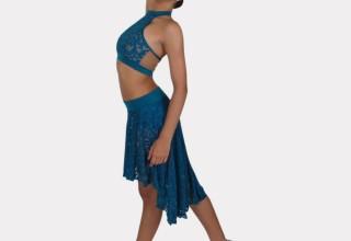 Lace Halter & Skirt