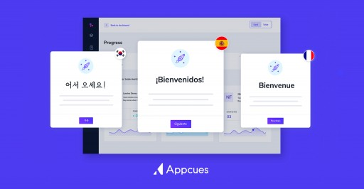 Appcues Introduces Localization, Now Supports Multilingual Product Personalization