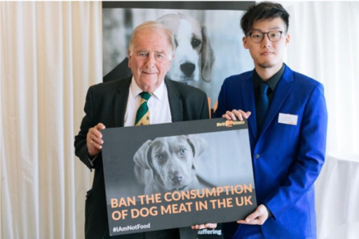 Veteran British MP Urges the Prime Minister to Initiate the International Agreement to Prohibit the Eating of Dogs and Cats
