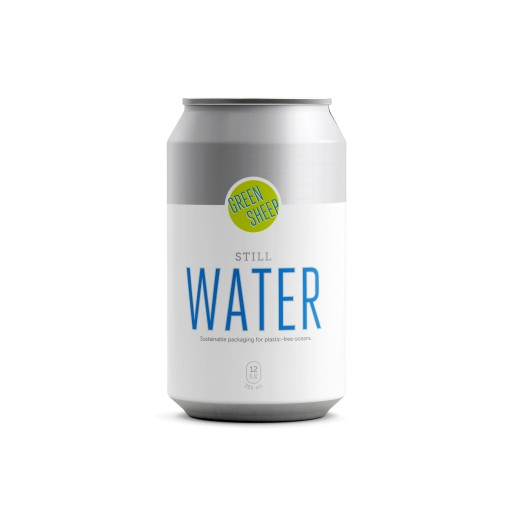Green Sheep Water Launches Water in Eco-Friendly 12-Ounce Cans
