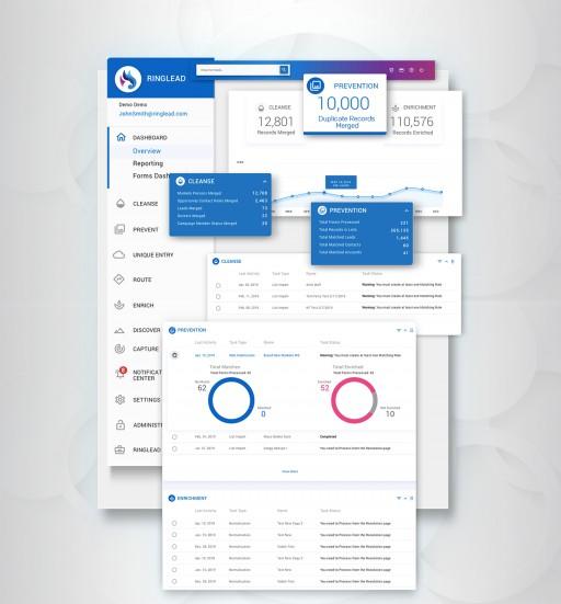 RingLead Announces the RingLead Platform on Salesforce AppExchange, the World's Leading Enterprise Cloud Marketplace