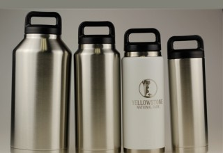 Stainless Steel Thermos Bottle Flask.