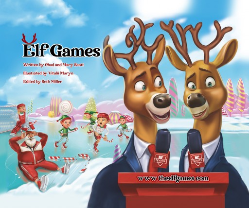 The Elf Games—New Children's Book Combines the Magic of Christmas and the Values of Sports