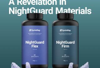 SprintRay NightGuard Flex & Firm Resins