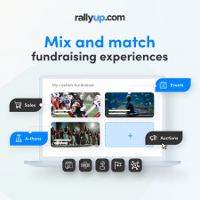 RallyUp mix-and-match functionality