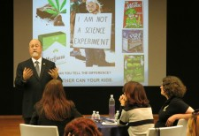 At a community roundtable at the Church of Scientology Los Angeles, John Redman, Executive Director of Californians for Drug Free Youth (CADFY), speaks about the impact of marijuana on our youth and communities.