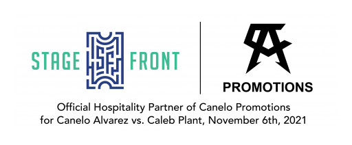 Stage Front Announces Exclusive Partnership With Canelo Promotions for Nov. 6 Fight in Las Vegas