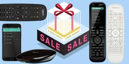 UniversalRemoteReviews.com Now Tracking the Best Logitech Harmony Cyber Monday 2019 Deals: Save on Elite, Companion, 950, Smart Control, Hub & More