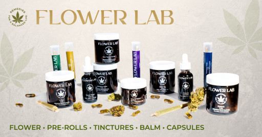 Flower Lab, Launching Today, Offers Cleanest, Highest-Quality Cannabinoid Products