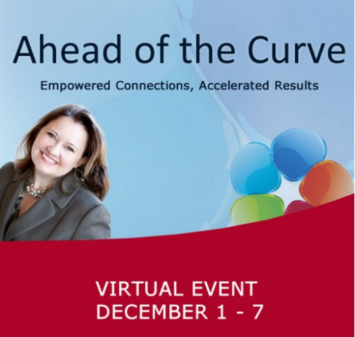 "Still Time to Register for Rebecca Hall Gruyter's ""Ahead of the Curve"" Virtual Event, December 1-7"
