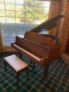 The Carolina Inn was gifted a piano to enhance the assisted living community's musical programming