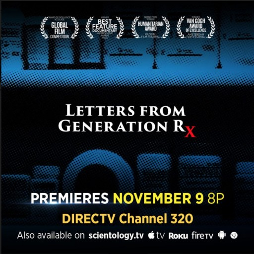Letters From Generation Rx, Family Tragedies Mark the Dark Side of Psychiatric Drugs on DOCUMENTARY SHOWCASE