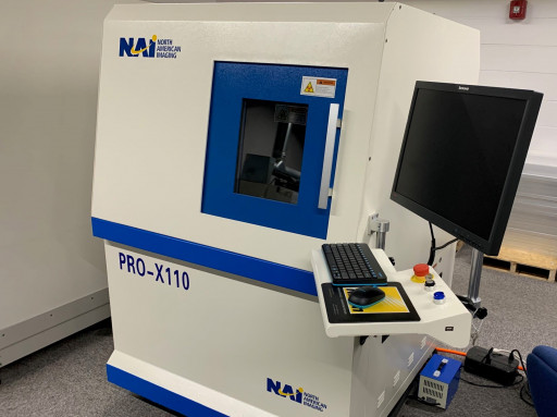 Increased X-Ray Capacity for Electronics Inspection and Sorting