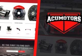 Acumotors.com Home Page