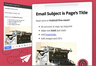 Publishthis.email infographic
