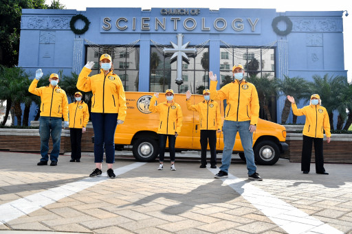 Thank You Los Angeles! Church of Scientology Surprises Firefighters, Police, Medical and Other Essential Workers With Gourmet Thanksgiving Dinners