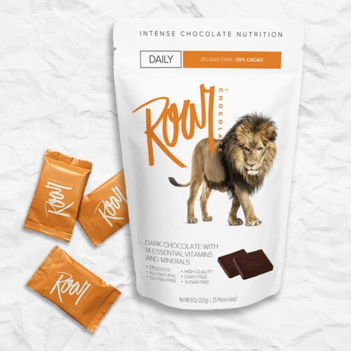 Goodbye Boring Vitamins, Hello Roar Chocolate