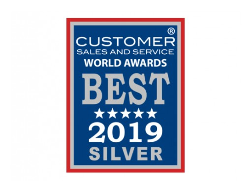 Alloy Software Earns Customer Sales and Service Award for Second Straight Year