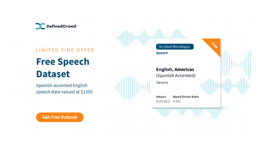 Mind the (Accent) Gap: DefinedCrowd Contributing to More Inclusive Speech Technology