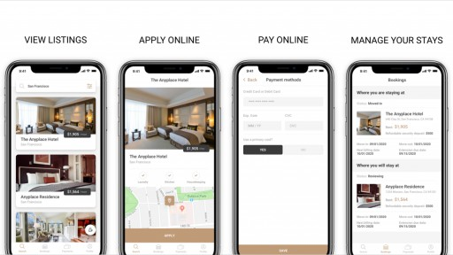 Housing Solution for Digital Nomads Anyplace Raises $2.5m Seed Round for Short-Term Furnished Rentals