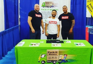 Pack-It Movers at Franchise Show