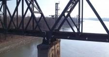 HAZON Solutions inspecting a rail bridge