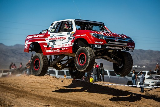 Team Honda Racing Ridgeline Ready to Take on Parker 425