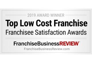 2019 Top Low Cost Franchise Award Winner