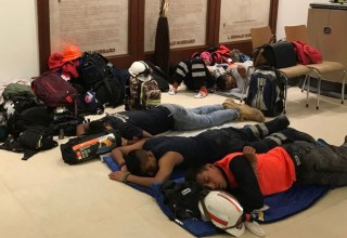 A brief nap at the Church of Scientology Mexico and then Los Topos and Volunteer Ministers head back to the disaster site to rescue people from the devastating Mexico earthquake.