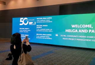 Interactive Video Displays Connect Conference Participants with New Technology