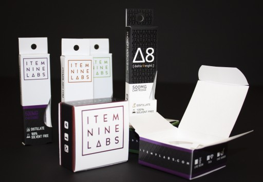 Peek Packaging Develops Custom Chipboard Boxes for Item 9 Labs