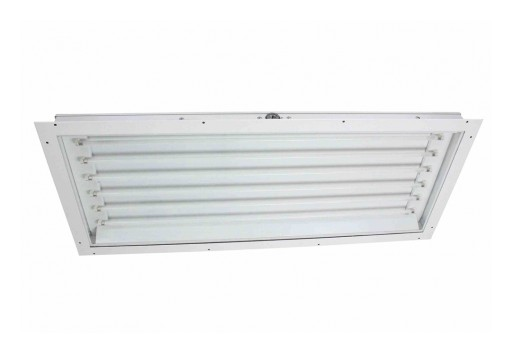 Larson Electronics Releases Fluorescent Rear Access Paint Spray Booth Lay-in Light Fixture, CID2