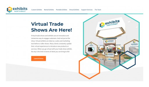 Exhibits Northwest Launches New Website, Introduces Virtual Trade Show Services