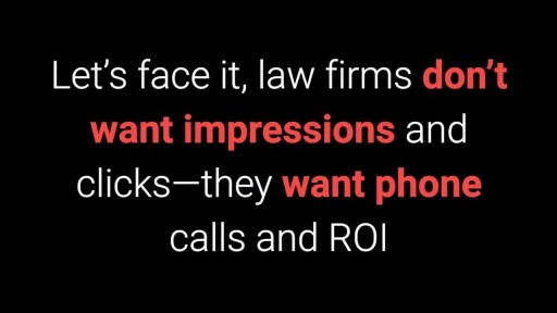 Pay Per Click Advertising and Ad Retargeting for Attorneys and Law Firms 855-943-8736
