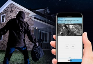 Motion Detection and App/e-mail Alert