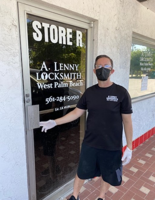 A Lenny Locksmith West Palm Beach is Providing Discounts on Services and All Lock Changes During COVID-19
