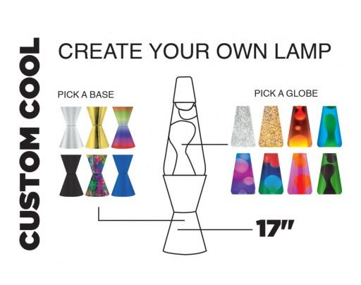 Lifespan Brands Debuts Design-Your-Own Custom Cool Lava Lamps
